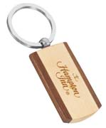 Wooden & Metal Keychains